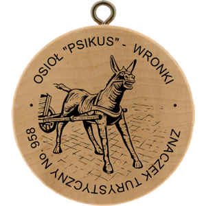 "No. 958 - Osioł ""Psikus"" - Wronki"